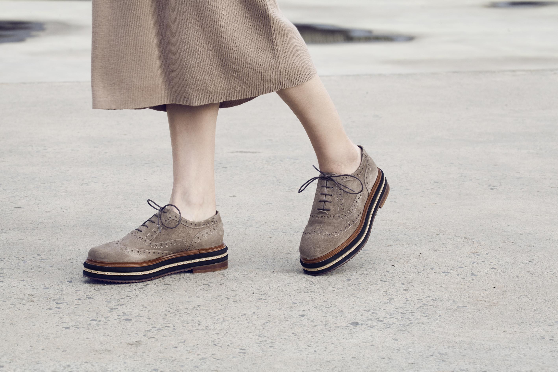 Zapatos Oxford: el nuevo zapato femenino