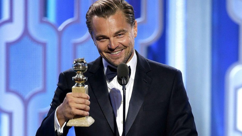 And the Oscar goes to... Leonardo Di Caprio