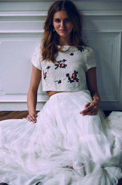 Tulley Top & Amora Skirt, Bhldn- Zankyou