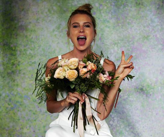 Dree Hemingway para la colección de novias de Savannah - Glamour