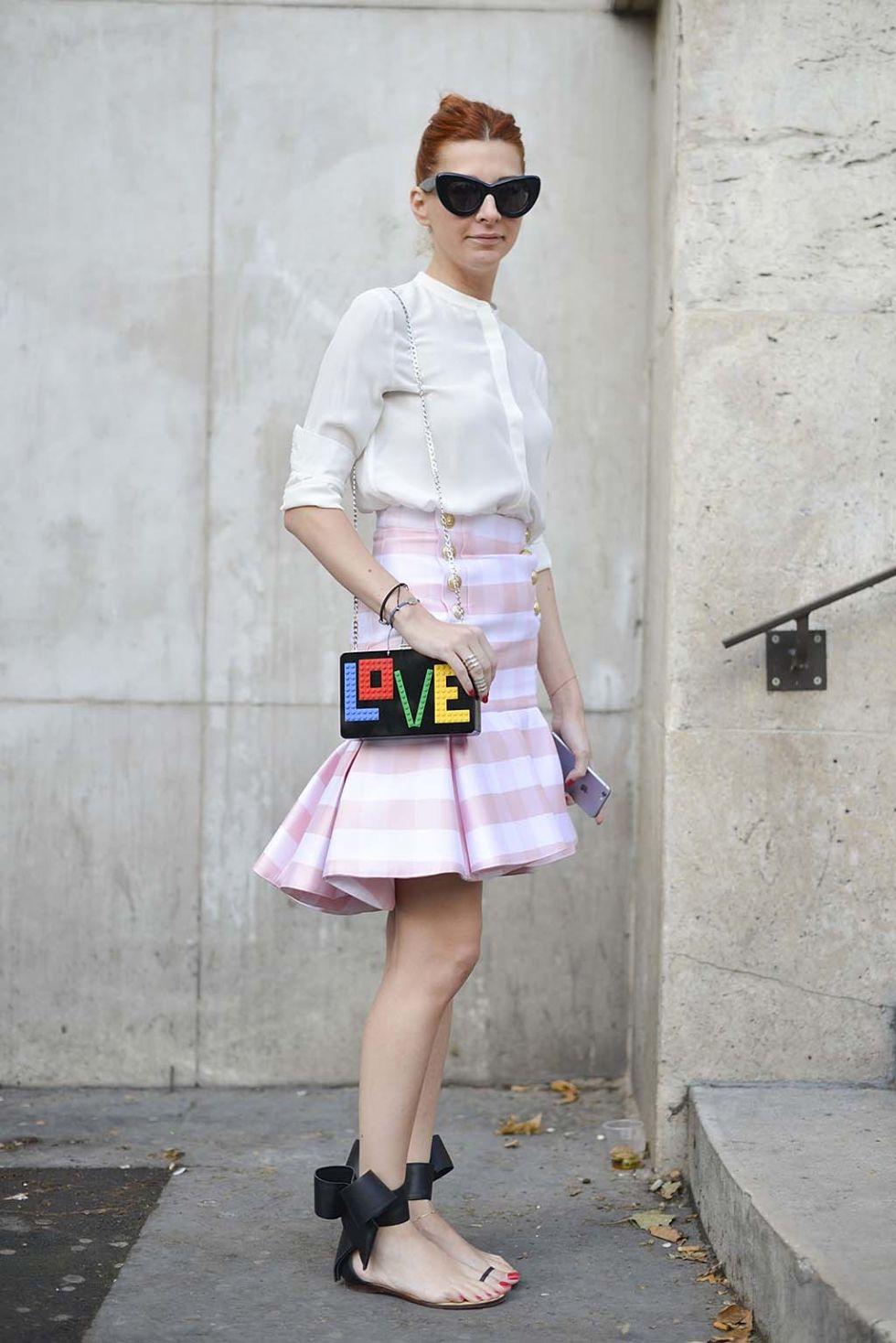 AR Street style Cómo y con qué llevan las it girls las faldas en verano