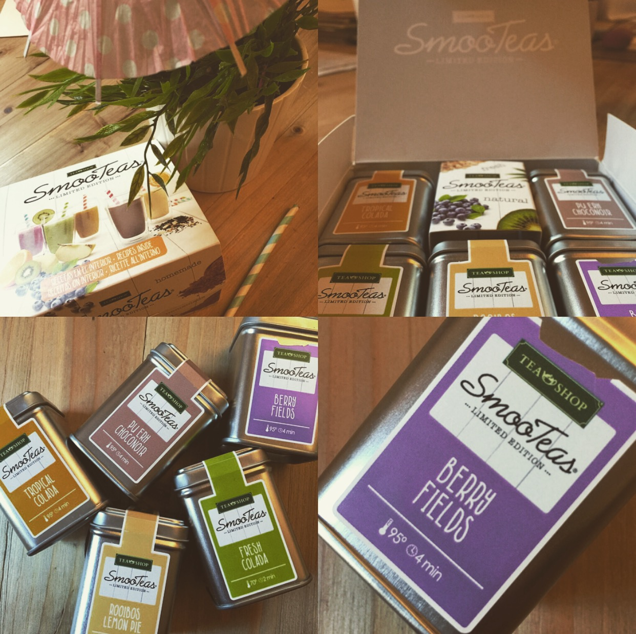 ¿Smoothies o Smooteas de TeaShop?