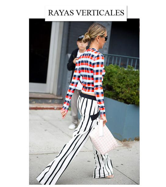 GLAMOUR Belleza Los 7 trucos de Street Style para parecer más delgada