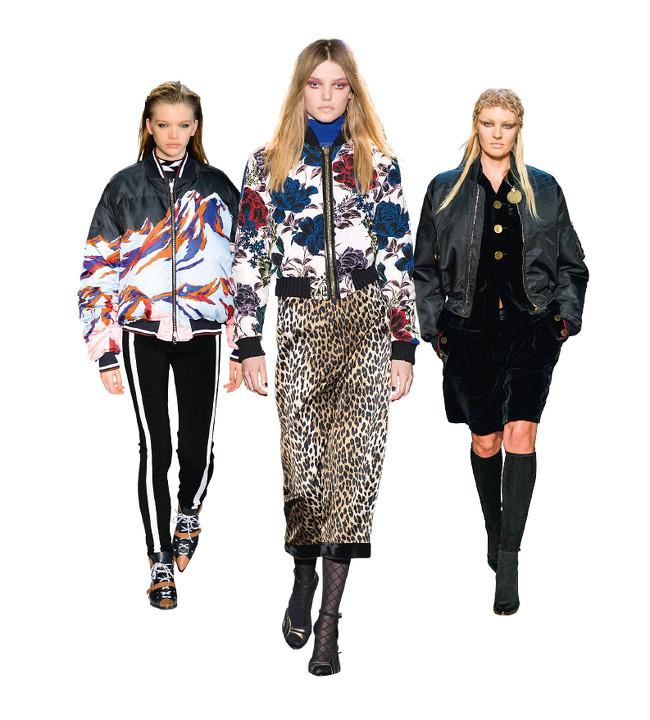 Emilio Pucci, Emanuel Ungaro y Givenchy WOMAN