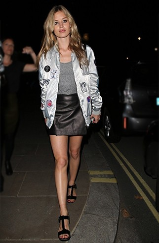 Georgia May Jagger Bomber Jackets For Women – How To Wear It Like The Celebs? Fashion Lady