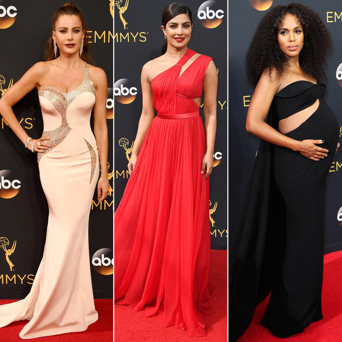 See the Hottest Looks from the 2016 Emmy Awards Red Carpet INSTYLE