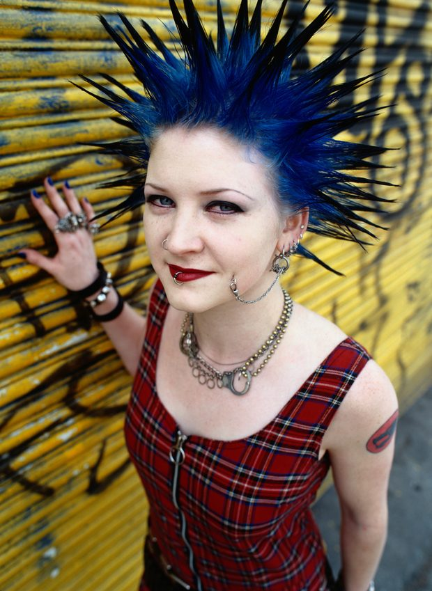 disfraz punk