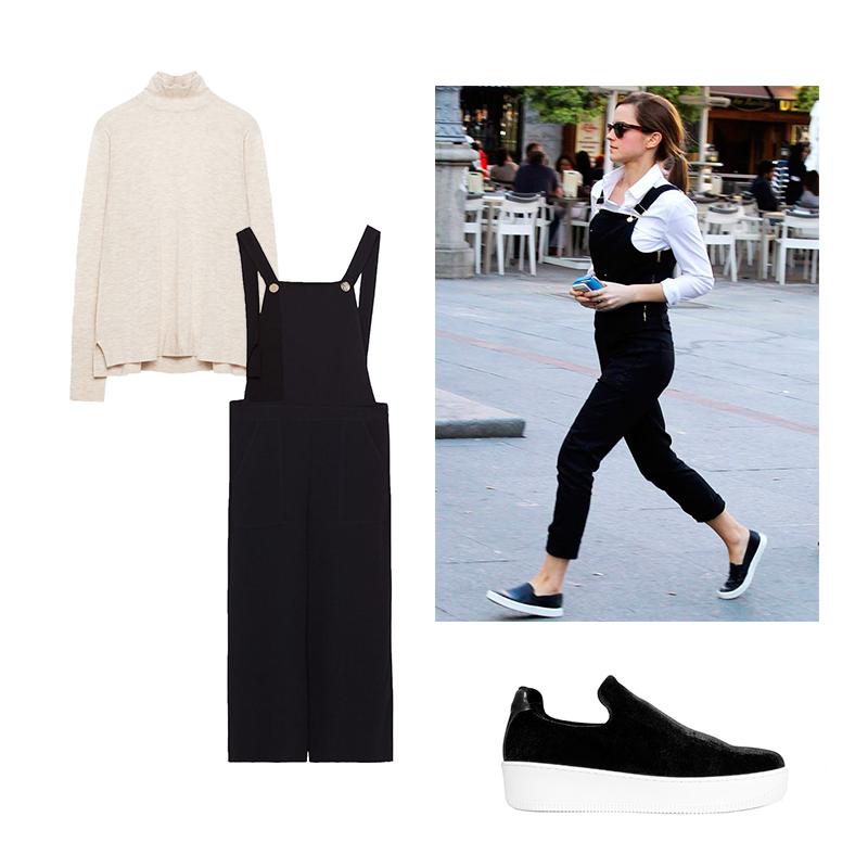 Total look de Zara Sneakers de Un Paso Más