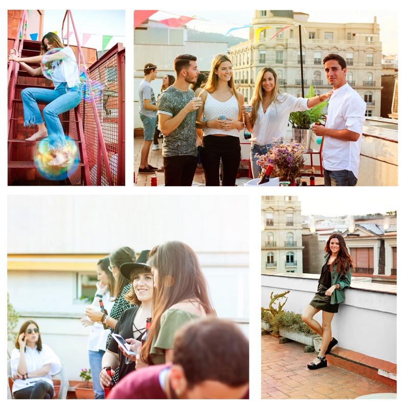 Rooftop party Un PAso Mas